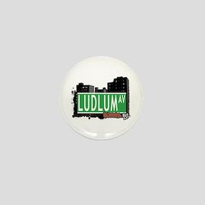 LUDLUM AVENUE, QUEENS, NYC Mini Button