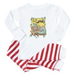 Dragon Reader Baby Pajamas