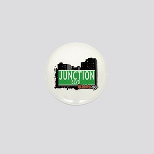 JUNCTION BOULEVARD, QUEENS, NYC Mini Button