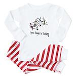 Singer In Training Baby Pajamas