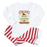 Chicago Pizza Eating Champion Baby Pajamas