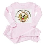 China Blessings Little Miracle Inf/Tod Pink Pajama