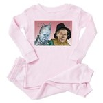 Bush/Cheney in Oz Toddler Pink Pajamas