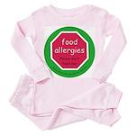 food allergies don't feed Toddler Pink Pajamas