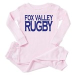 Fox Valley Rugby Toddler Pink Pajamas