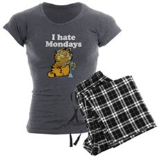 I Hate Mondays Women's Charcoal Pajamas