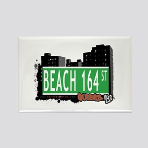 BEACH 164 STREET, QUEENS, NYC Rectangle Magnet