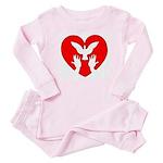 HeartDove Baby Pajamas