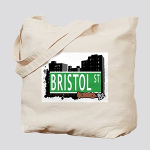 BRISTOL STREET, QUEENS, NYC Tote Bag