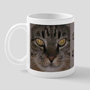 """Mr Boots"" Tabby Cat Mug"