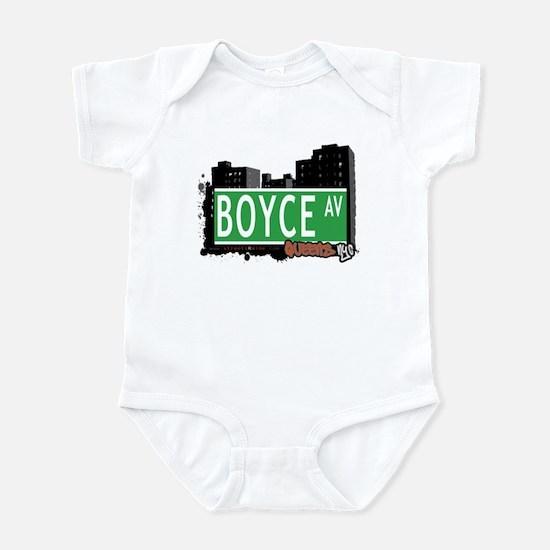 BOYCE AVENUE, QUEENS, NYC Infant Bodysuit