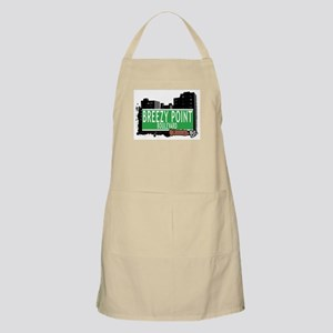 BREEZY POINT BOULEVARD, QUEENS, NYC BBQ Apron