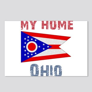 My Home Ohio Vintage Style Postcards (Package of 8
