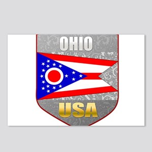 Ohio USA Crest Postcards (Package of 8)