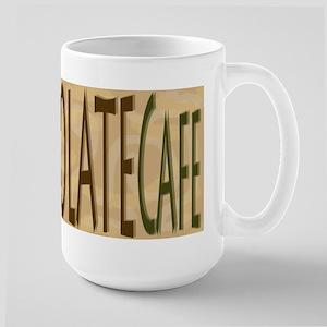 Large Chocolate Mug
