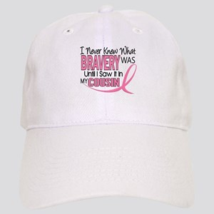Bravery (Cousin) Breast Cancer Cap