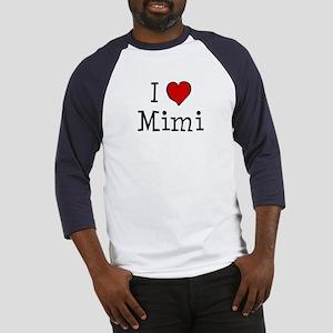 I love Mimi Baseball Jersey