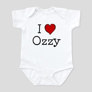 I love Ozzy Infant Bodysuit