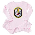 USS CARR Baby Pajamas