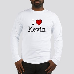 I love Kevin Long Sleeve T-Shirt