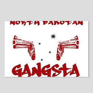North Dakotan Gangsta Postcards (Package of 8)