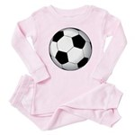 Soccer Ball Baby Pajamas