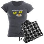Holy Crap! Pete, is that you? Women's Charcoal Paj
