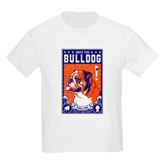 Obey the English Bulldog! Kids T-Shirt