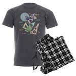 Geometry Men's Charcoal Pajamas