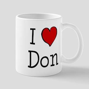 I love Don Mug