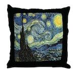 """Starry Night"" Throw Pillow"