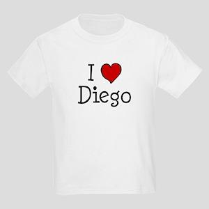I love Diego Kids Light T-Shirt