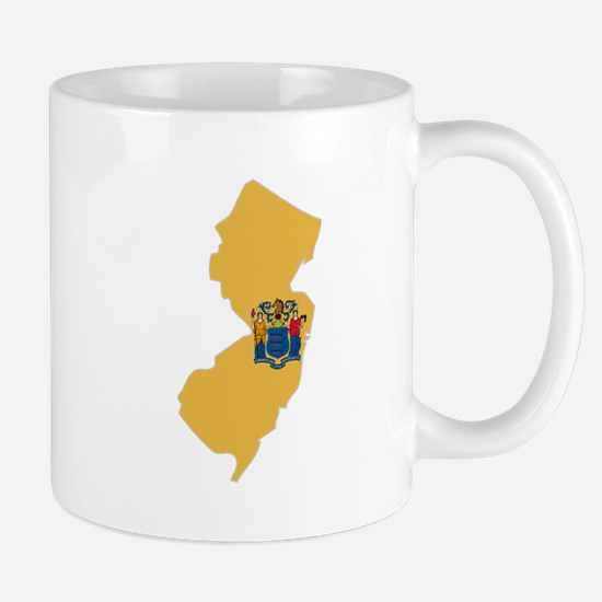 New Jersey Stripe Custom Desi Mug