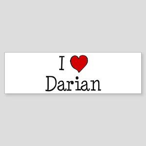 I love Darian Bumper Sticker
