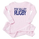 Fox Valley Rugby Baby Pink Pajamas