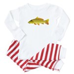 Common carp c Baby Pajamas