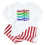 Howzit Baby Pajamas