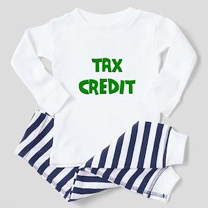 Tax Credit Baby Pajamas