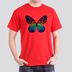 Psychadelic Butterfly Dark T-Shirt