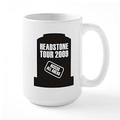 Headstone Tour Large Mug