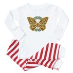 Celtic Butterfly Baby Pajamas