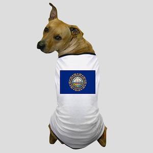 Beloved New Hampshire Flag Mo Dog T-Shirt