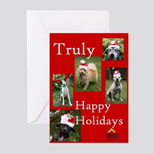 dawg holiday cards pk of 10 - Dog Holiday Cards