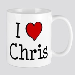I love Chris Mug
