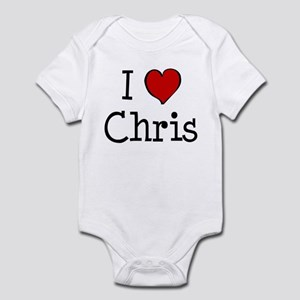 I love Chris Infant Bodysuit