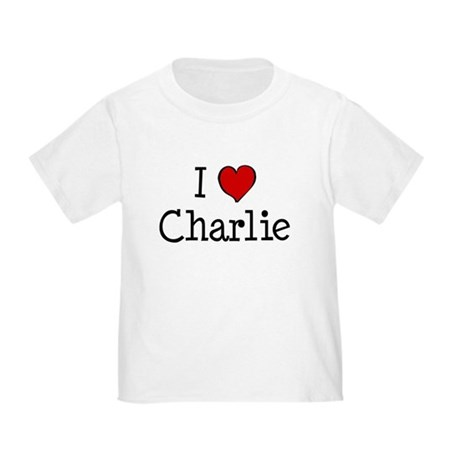 I love Charlie Toddler T-Shirt