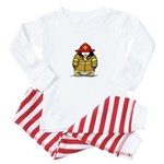 Fire Rescue Penguin Baby Pajamas
