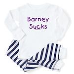 Barney Sucks Baby Pajamas