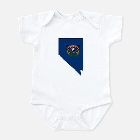 Nevada Stripe Custom Design Infant Bodysuit