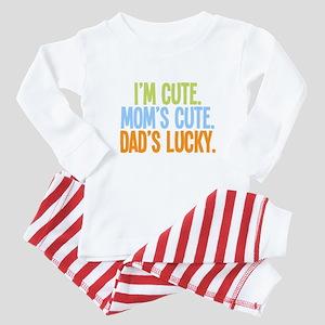 Lucky Dad! Baby Pajamas